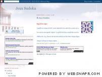 Jeux sudoku gratuit