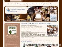Création et produits de France
