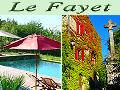 Gite ardeche - Domaine du Fayet - Ardèche et Cévennes