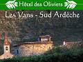 Ardeche - hotel des Oliviers - Les Vans