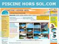 Piscine 2007: achat, prix piscines bois - vente promo-kit piscine